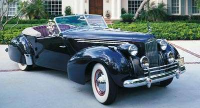 This 1937 Packard Super Eight sedan was part of the 1940-42 Packard Custom Super Eight 180 line.
