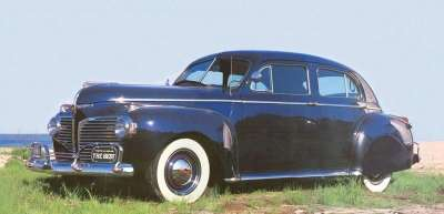 Period Dodges, like the 1941 Custom Town Sedan, were very down-to-earth automobiles.