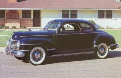 Fewer than 4,700 Dodge Custom club coupes were made in 1942.
