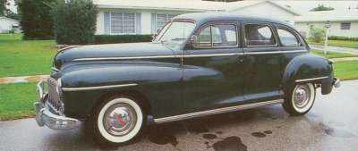 This restored 1948 Dodge is one of 333,911 Series D-24 Custom sedans built in the early postwar years.
