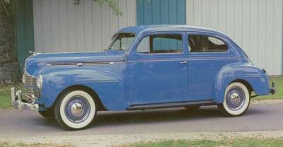 The most popular model of the low-line 1940 Dodge Special series was the $815 two-door sedan.
