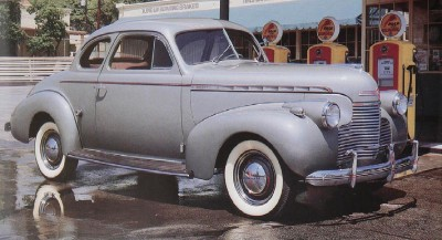 1940 Chevrolet Master DeLuxe business coupe