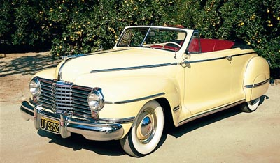 1941-1942 Dodge Custom Convertible