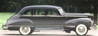 The 1946 Hudson lineup was little-changed from prewar models.