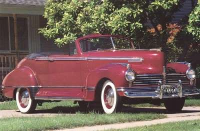 All 1941 Hudsons offered Symphonic Styling, which coordinated interior and exterior colors.