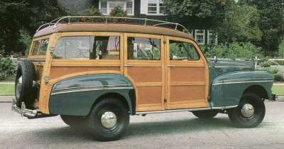 1946 Mercury wagon