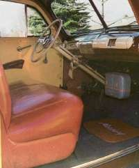 1941 Mercury wagon interior