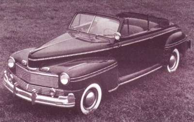 1942 Mercury Club convertible