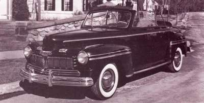 1946 Mercury Club convertible