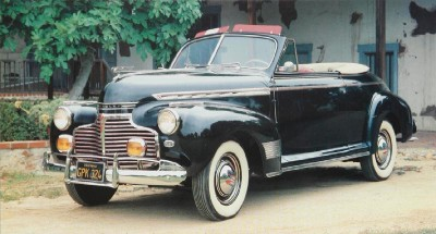 1941 Chevrolet Special DeLuxe convertible