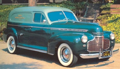1941 Chevrolet Series AG Sedan Delivery and Coupe Pickup