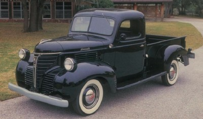 This 1941 Plymouth PT-125 pickup represents the last of its breed; Plymouth would never again produce a genuine truck. See more classic truck pictures.