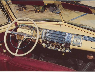 1942 Dodge Custom, Interior