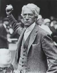 Kenesaw Mountain Landis was Major League Baseball's first administrator.