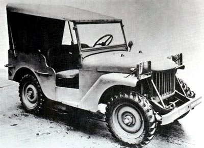 1940 willys quad