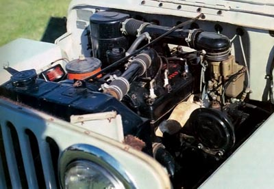 1946 jeep cj-2a engine