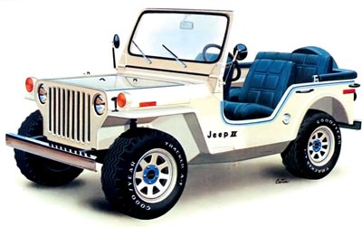 1977 concept jeep ii