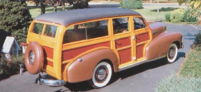 1947 Chevrolet Fleetmaster wagon
