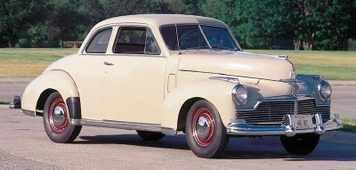 1946 Studebaker Skyway Champion coupe, one of the 1946 Studebaker Skyway Champion line of collectible cars.