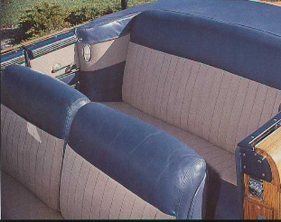 1947 Chrysler Town & Country, Interior