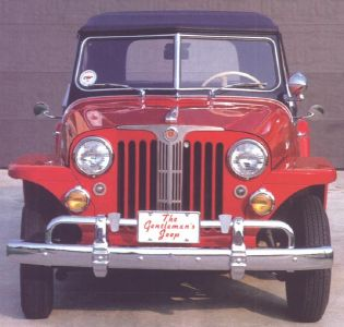 1948 Willys Jeepster, front view