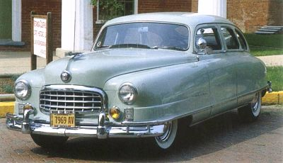 1950 Nash Ambassador full view