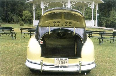 1949-1951 Nash Airflyte rear view