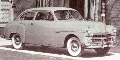 The 1949 Dodge Wayfarer became a sales success as buyers responded to its solid performance.