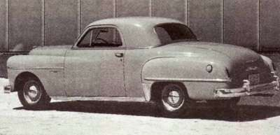 Dodge's marketing gurus called the 1950 Dodge Wayfarer