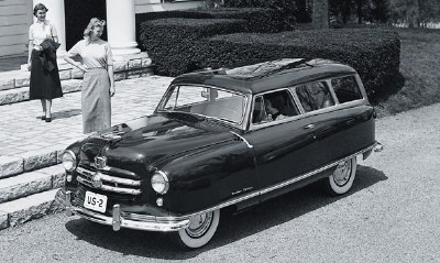 The 1950 Rambler was loaded with standard accessories.