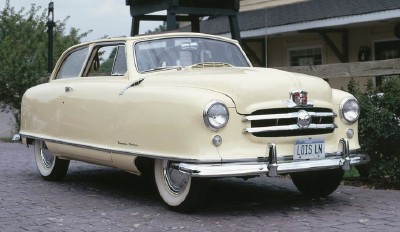 The 1951 Rambler two-door Country Club hardtop was a popular choice for buyers.