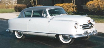The Rambler had a 100-inch wheelbase, small for its time.