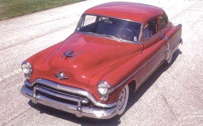 1951 Oldsmobile Super 88 two-door sedan