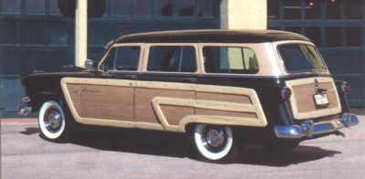 1954 Ford Country Squire side view