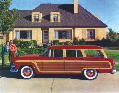 1955 Ford Country Squire side view