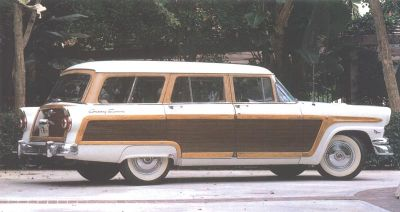1956 Ford Country Squire side view