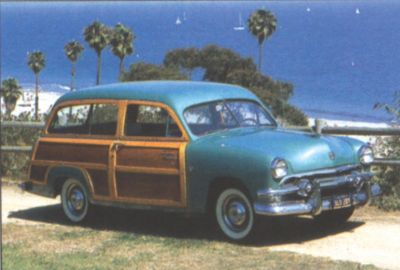 1951 Ford Country Squire side view