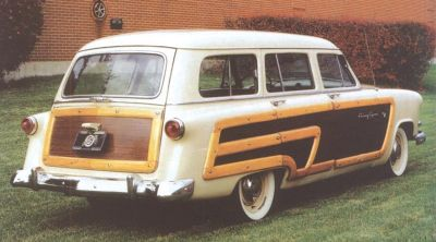 1953 Ford Country Squire rear view