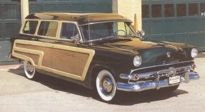 1954 Ford Country Squire front view