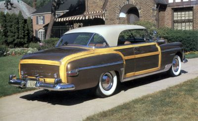 1950 Chrysler Town & Country Newport hardtop wood body
