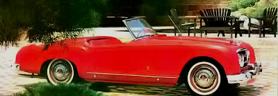 1953 convertible Nash-Healey