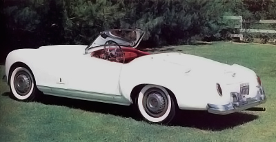 1953 Nash-Healey convertible