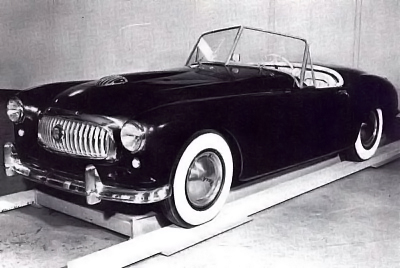 the first Nash-Healey prototype
