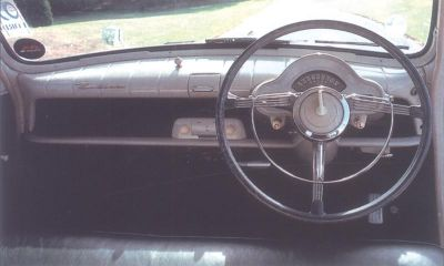 1951 Ford Consul interior