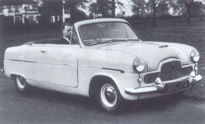 1953 Ford Consul convertible