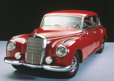 1957 Mercedes-Benz Type 300Sc convertible of the 1951-1962 Type 300s