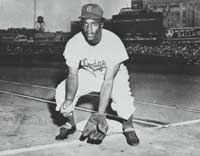 Jackie Robinson was the first African-American player in the Majors.