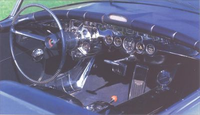 1951 General Motors LeSabre interior