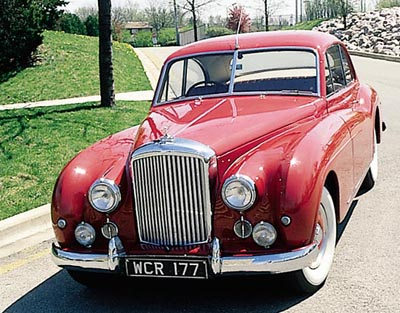 This 1953 Bentley R-Type Continental coupe was part of the 1952-55 Bentley R-Type series.