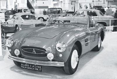 This was part of the 1952-1959 Allard Palm Beach line.